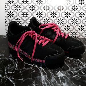 Adidas Samoa black pink womans 9